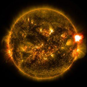 太陽フレア(イメージ)