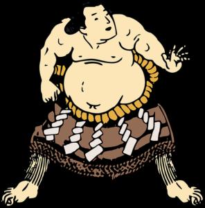 相撲イラスト