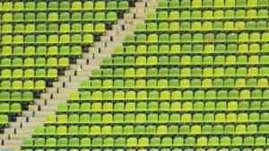 オリンピック・会場・椅子