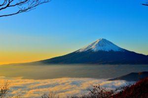 富士山・青空