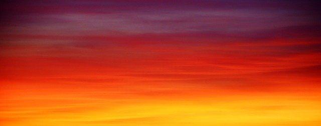 赤 夕焼け色