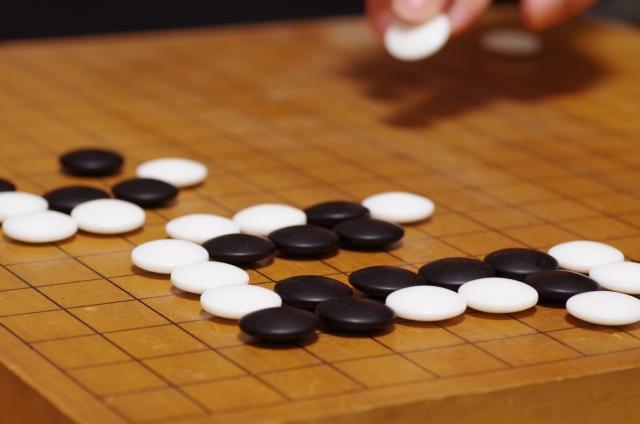 囲碁(打っている手)
